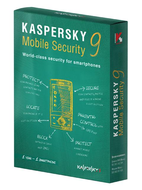Антивирус Kaspersky Mobile Security 9.0 DVD box.